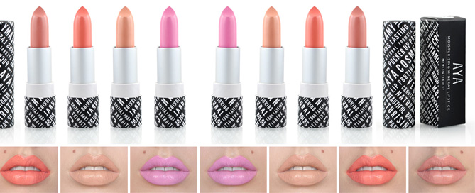AYA Lipstick Review - A Natural Alternative To MAC Cosmetics ...